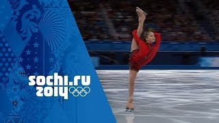 Yulia Lipnitskaya's Phenomenal Free Program - Team Figure Skating | Sochi 2014 Winter Olympics