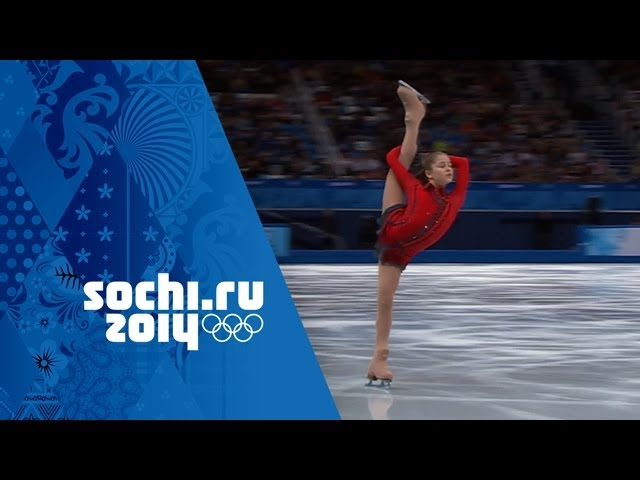 Yulia Lipnitskaya's Phenominal Free Program - Team Figure Skating | Sochi 2014 Winter Olympics