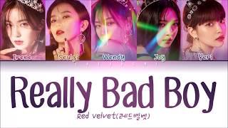 RED VELVET (레드벨벳) - 'RBB (REALLY BAD BOY)' LYRICS (Color Coded Eng/Rom/Han/가사)