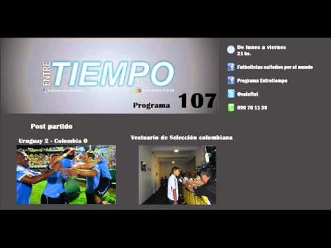 Entretiempo - 10/9/13 - Programa Nº 107 (Post Uruguay 2 - Colombia 0)