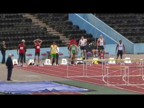 SEAA 2014 Championships - Crystal Palace - Senior Mens 110m Hurdles