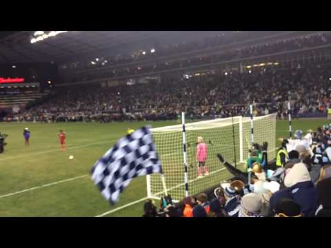 Sporting KC win over Real Salt Lake MLS Cup 2013 - Final Penalty