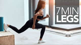 7 MINUTE LEGS WORKOUT (Build & Slim)