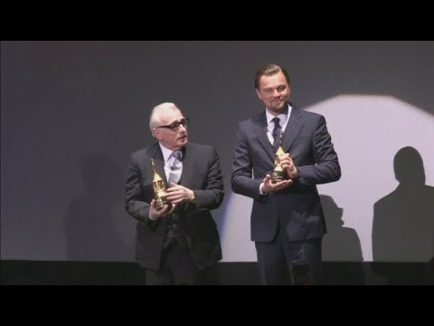 Leonardo DiCaprio and Martin Scorsese honoured at Santa Barbara International Film Festival