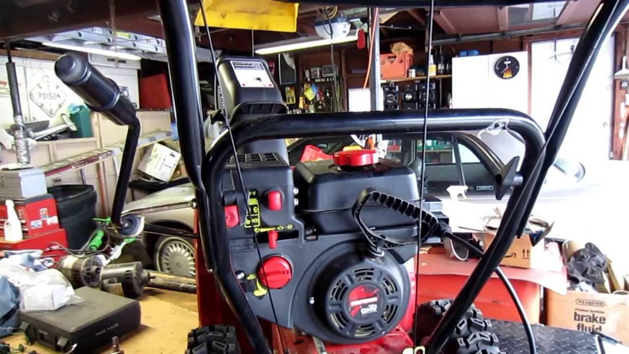 lawn mower ignition wiring diagram craftsman snow blower repair youtube  craftsman snow blower repair youtube
