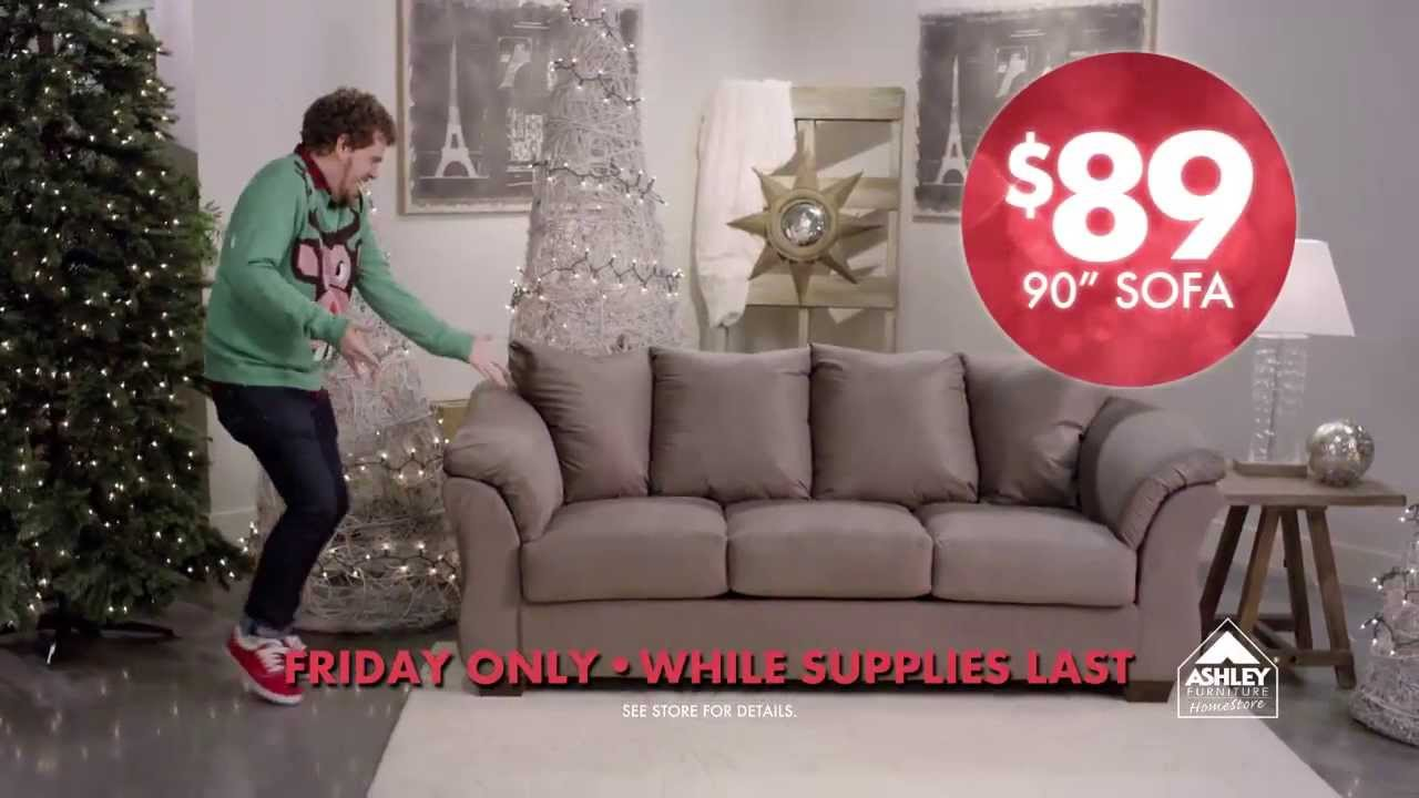Black friday ashley furniture homestore memphis youtube for Furniture black friday