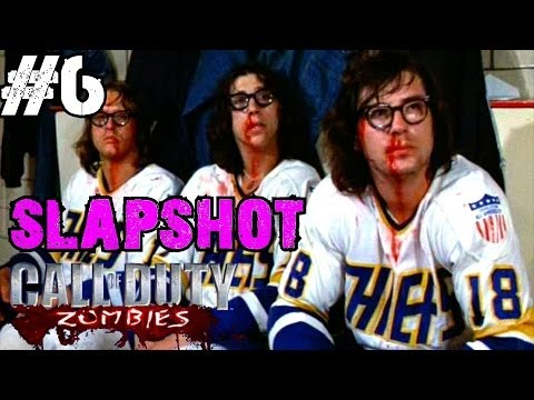 Slapshot (Hockey) Ep.6 - Call of Duty Custom Zombies (CoD Zombies) - World at War [PC HD]