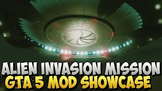 GTA 5 Mods - Alien Invasion Capture Mission Mod in GTA 5 Mods Showcase on GTA 5 Online (GTA 5 Mods)