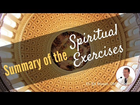 Summary  of Spiritual Exercises of St. Ignatius