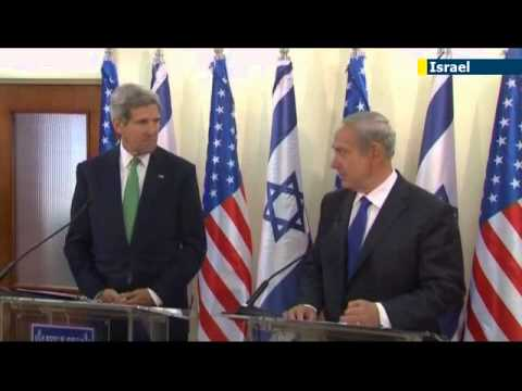 Israel reacts to John Kerry's peace talks warning