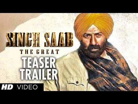 Singh Saab The Great Trailer Teaser | Sunny Deol | Latest Bollywood Movie 2013