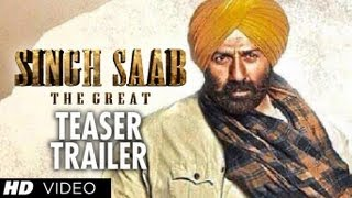 """Singh Saab The Great Trailer"" Teaser Sunny Deol"