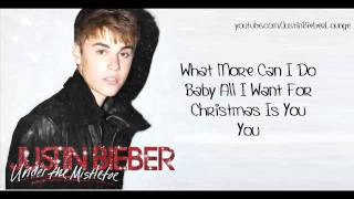 Justin Bieber Mariah Carey Duet All I Want For Christmas