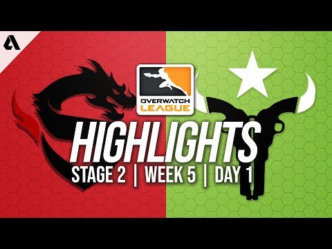 Shanghai Dragons vs Houston Outlaws | Overwatch League Highlights OWL Stage 2 Week 5 Day 1