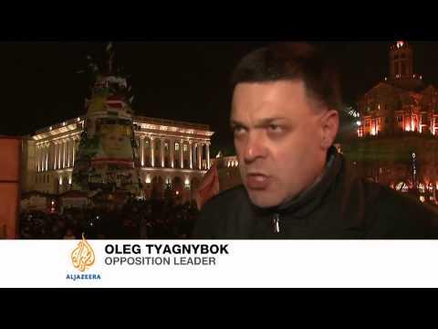 Ukraine businesses back protest movement
