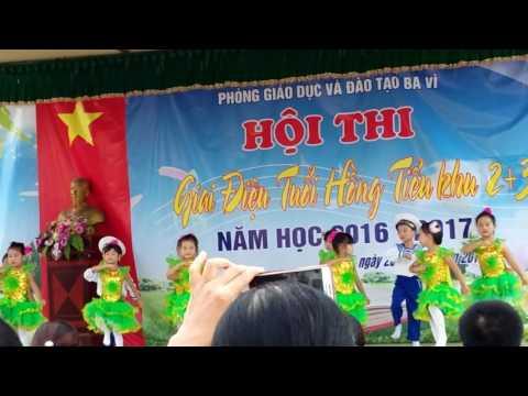 Dan Vu Em Di Bo Doi Truong Tieu Hoc Quynh Khe Phim Video
