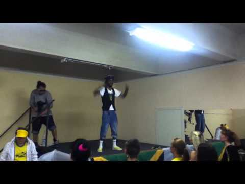 John Bling @ True Jamaican Camp in St. Petersburg Russia (Dancer's Boom)