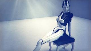 The Eve Android 2.0 - Sensual Robot / 3D Cyborg Animation 3D view on youtube.com tube online.