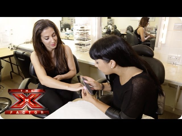 Master the gel nail technique at home - X Factor Make Up Room - The X Factor UK 2013