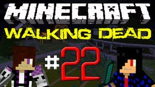Minecraft: The Walking Dead Survival! Episode 22 - Ryan's bad at Minecraft