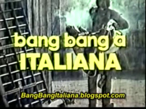 Bang Bang à Italiana - Vinheta TV Record - A volta de Django - 14/10/1987