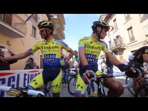 Tirreno-Adriatico Stage 5 win by Tinkoff-Saxo