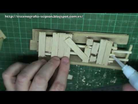 Como hacer escenograf a para wargames vallas 1 how to make scenery for wargames youtube - Como hacer vallas ...