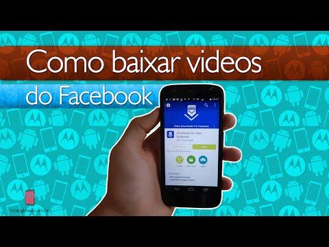 Como baixar vídeos do facebook no Android