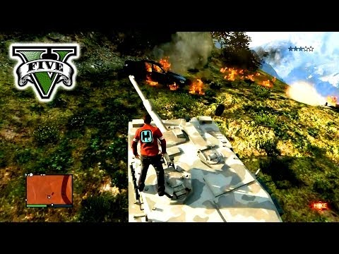 GTA 5 Custome CARS & JUMPS Live Stream - Grand Theft Auto 5 - GTA  Jumps & Cars