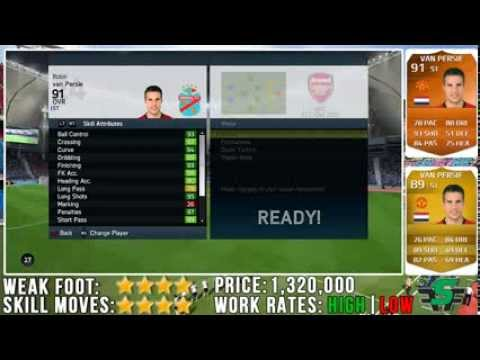 FIFA 14 MOTM Robin Van Persie (91) Player Review w/ In Game Stats & Gameplay