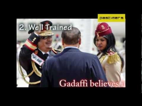 5 Unbelievable Facts Of Gaddafi's Bodygaurd Girls, 5 Unbelievable Facts Of Gaddafi's Bodygaurd Girls