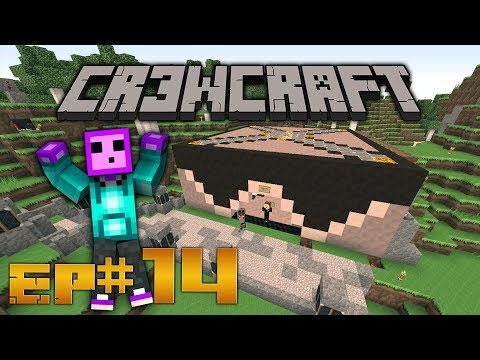 CR3WCraft - Minecraft - Redstone Bank Ep 14