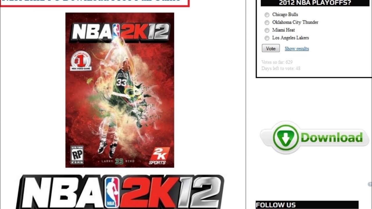 Nba 2k12 Free Pc Full Version
