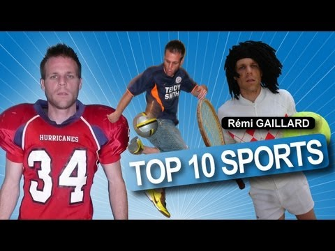 Top 10 Sports (Rmi GAILLARD)