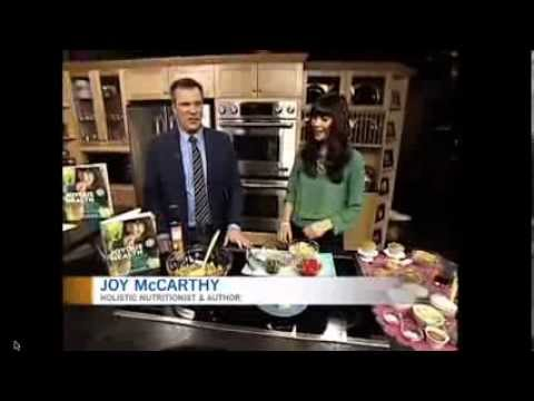 Joyous Health on CTV Ottawa: Chickpea Detox Salad & Almond Power Muffins