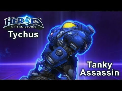 Heroes of the Storm - Tychus Tanky Assassin Build