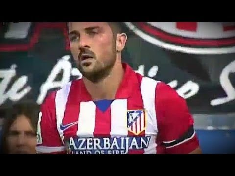 Atletico Madrid  vs Málaga 1-1 All Goals & Highlights 11.05.2014