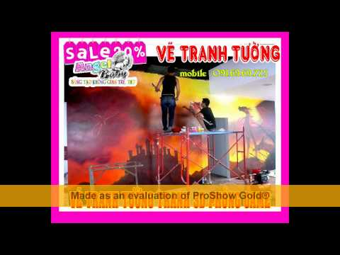 VE TRANH TUONG 3D