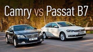 Toyota Сamry или Volkswagen Passat? Анти-Solaris за 800 тысяч: спринт-тест подержанных автомобилей. Тесты АвтоРЕВЮ.