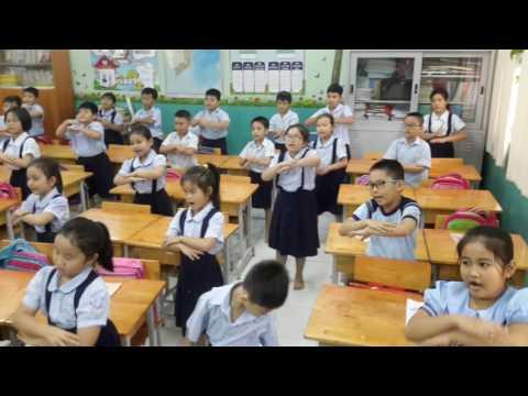 Lớp chúng ta đoàn kết - Vận động theo nhạc - Lớp 3/1 Nguyễn Huệ Q1