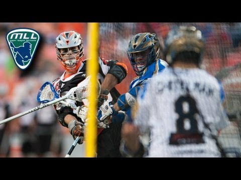 MLL Week 9 Highlights: Charlotte Hounds vs Denver Outlaws