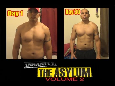 "Insanity Asylum Volume 2 Results "" DAY 30"" CRAZY RESULTS ..."