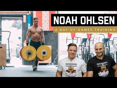 Noah Ohlsen Full Day of CrossFit Games Training | The Session Ep. 11