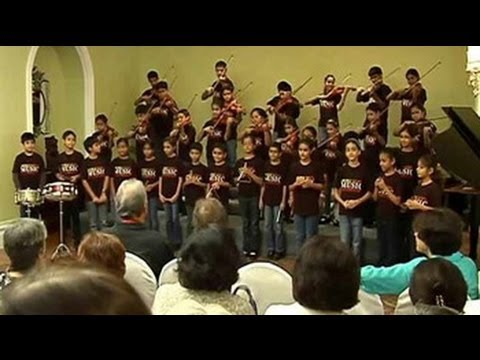 When Mumbai children played for Maestro Zubin Mehta