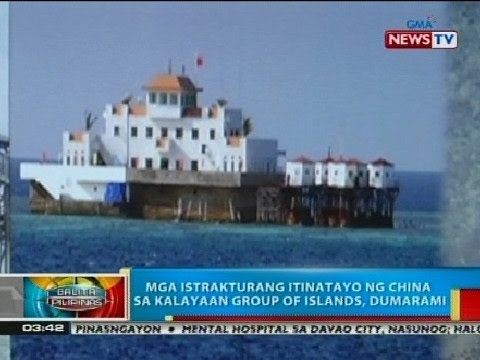 BP: Mga istrakturang itinatayo ng China sa Kalayaan Group of Islands, dumarami