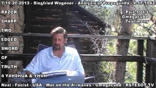 Omegacube Testimony Part 1 of 3 - Analysis of Propaganda - Siegfried Wagener - 4-17-1942