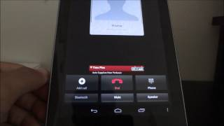 Turn Google Nexus 7 Into A Free Wi-Fi Phone Using