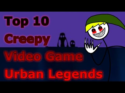 Top 10 Creepy Video Game Urban Legends