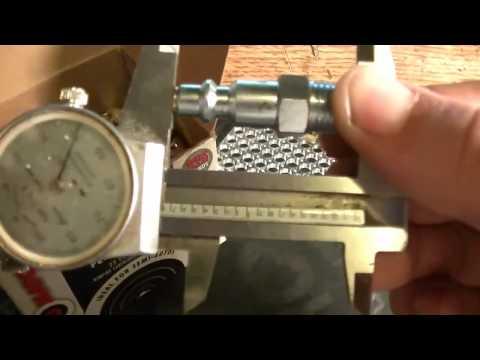 .22lr Rim Thickness Measurement (homemade rim gauge)