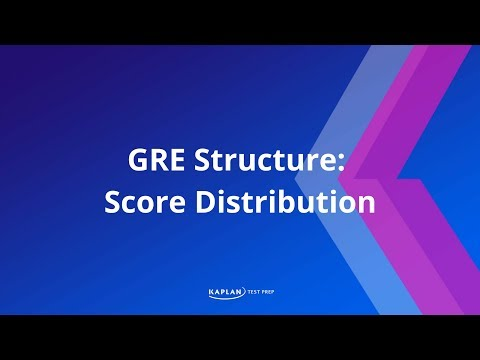 GRE Structure: Score Distribution | Kaplan Test Prep